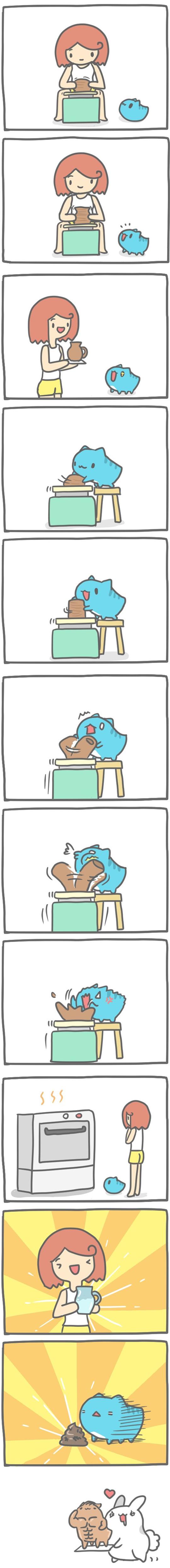 Truyện Mìn Lèo #97: Làm gốm sứ