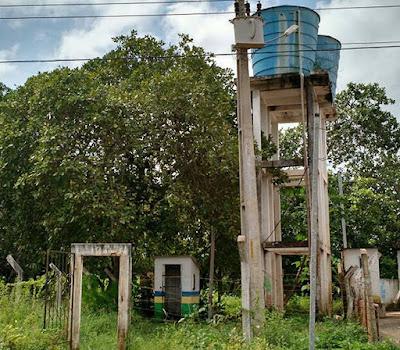 Chapadinha: Chafariz do Recanto dos Pássaros parado há um mês