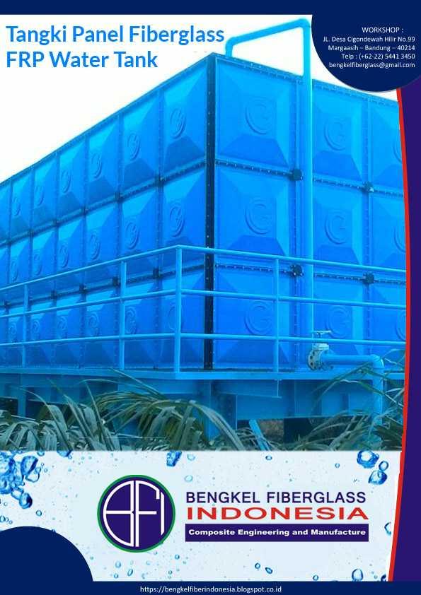 Katalog Tangki Panel Fiberglass FRP Rooftank