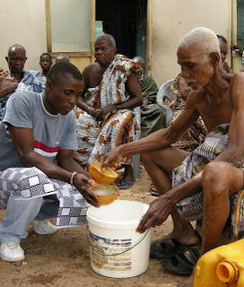 Making palm wine