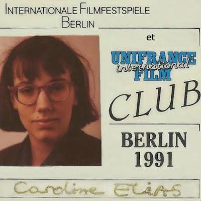 Ausweis des Clubs von Unifrance auf der Berlinale 1991 / Internationale Filmfestspiele Berlin