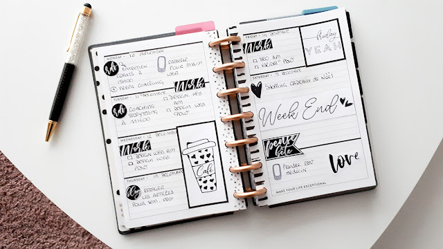 Mini Happy Planner - Plan With Me [10-16 décembre 2018]