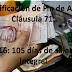 Bonificación de Fin de Año Cláusula 71. 2016: 105 días de salario integral