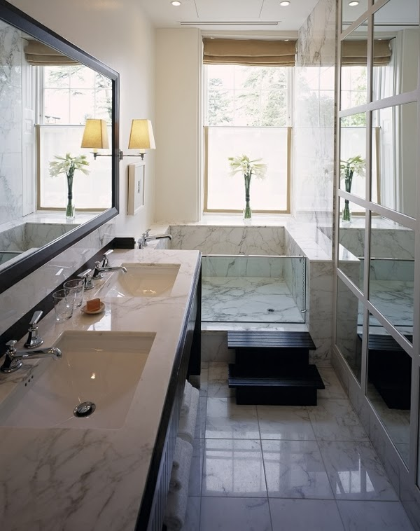 baño espacio reducido