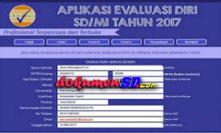 Download Aplikasi Evaluasi Diri Sekolah (EDS) Jenjang SD Terbaru