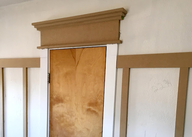DIY Farmhouse Trim - with board and batten walls