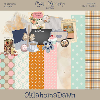 Cozy Kitchen Mini Kit #2 - Freebie