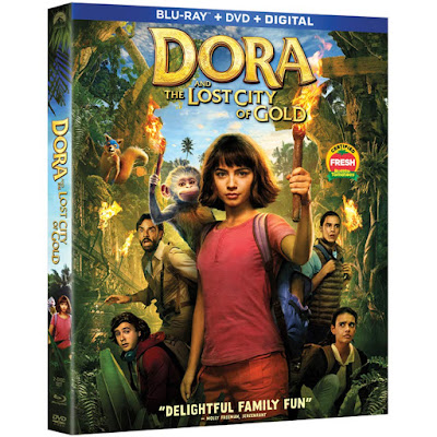 Dora And The Lost City Of Gold 2019 Bluray Dvd Combo
