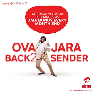 New Awoof For All Airtel Customers with 'OvaJara x8' Bonus on SmartConnect 4.0