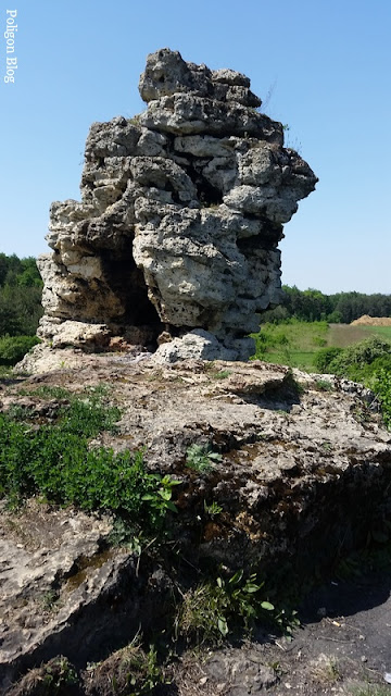 skałka, Bolęcin, Trzebinia, Małopolska, trias, ostaniec, Kamień