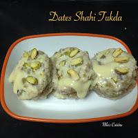 Dates Shahi Tukda