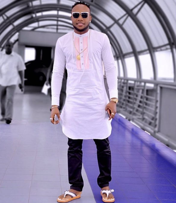 After getting shaded for photoshop, Kcee photoshops himself yet again