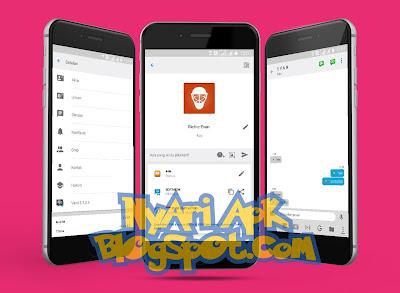 Download BBM Mod iPhone Versi 3.2.0.6 Apk Terbaru