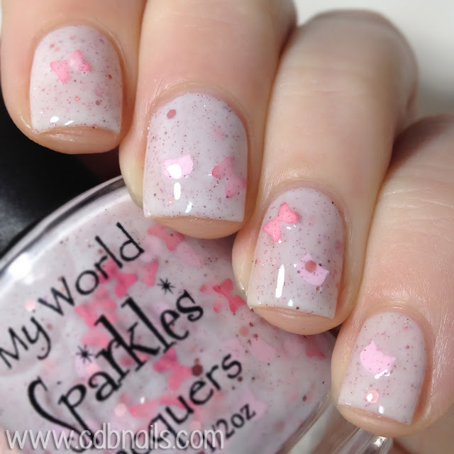 My World Sparkles-The Pink Meow