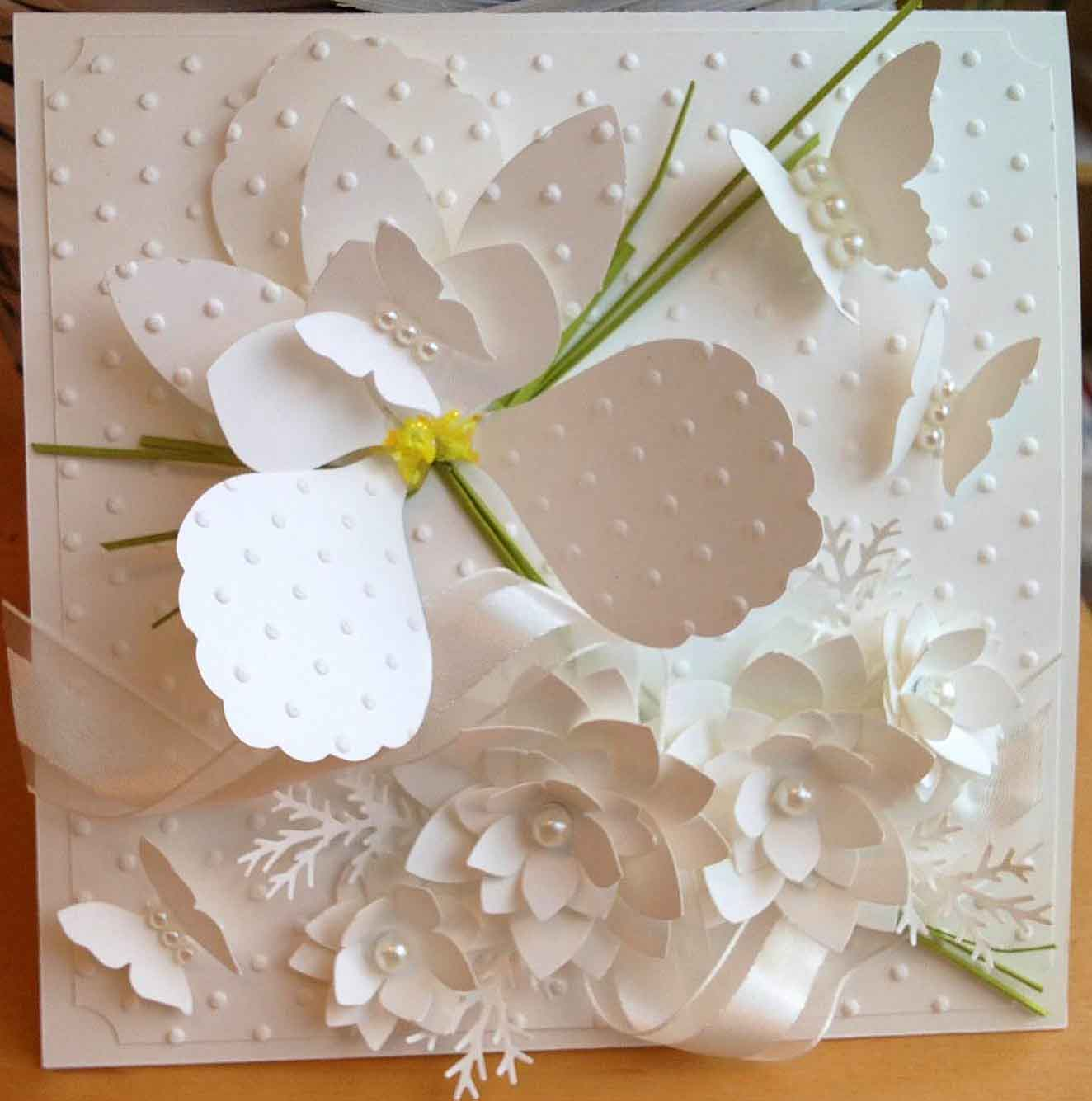 Wedding Flowers In May: Just A Thought... Cards By Amy: May Flowers Wedding Bouquet