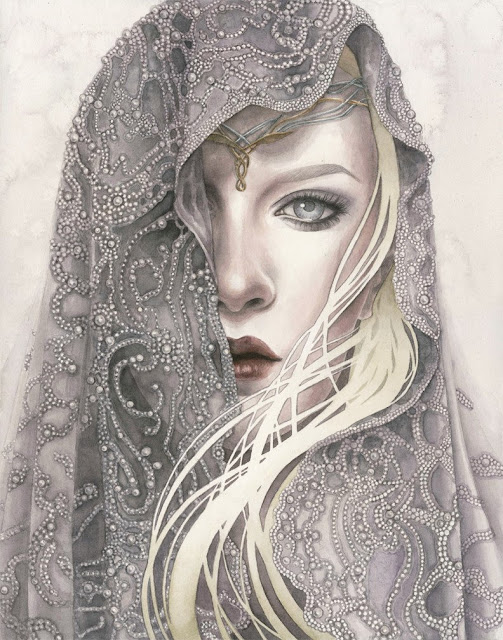 "Kelly McKernan ""Lady of Light"""