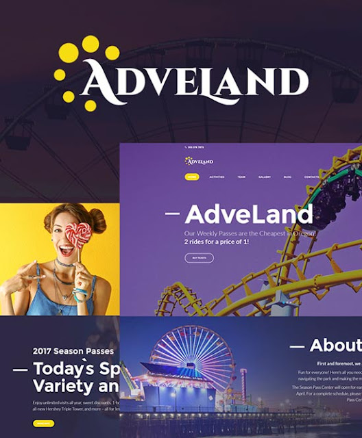 Adveland WordPress Teması