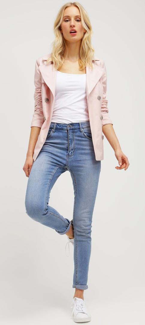 Veste femme légère rose ONLY