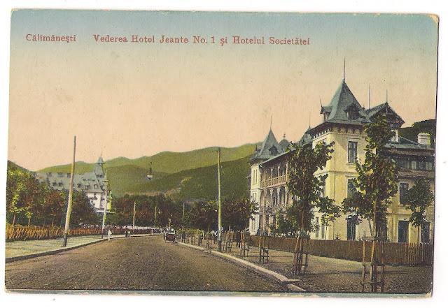 Hotelul Jantea si Hotelul Societatii