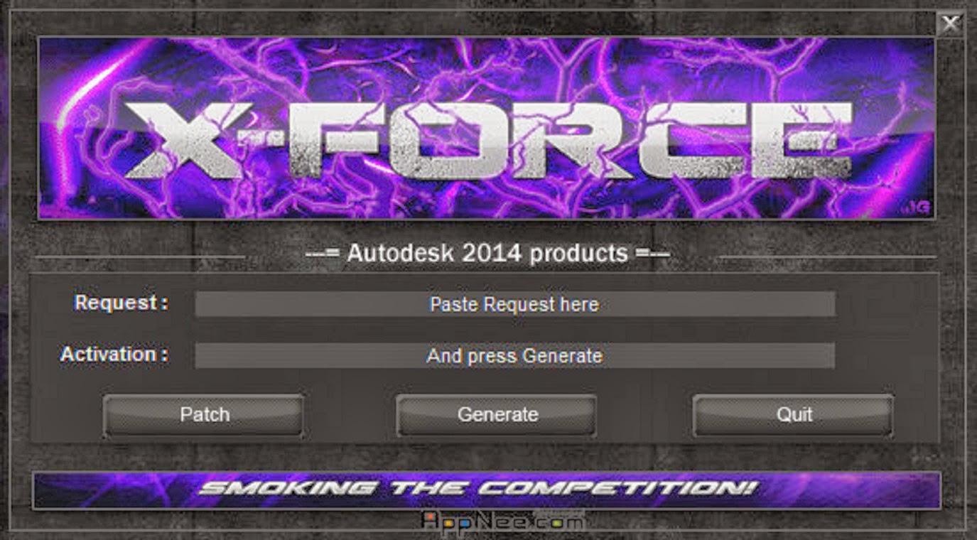 keygen x-force autodesk 2015 pc - 3264 bits