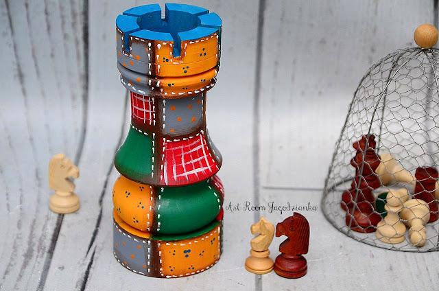{z cyklu} SZACHY NIE Z TEJ BAJKI: wieże patchworkowe
