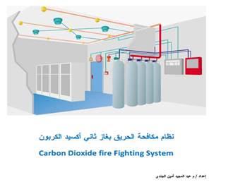 مكافحه الحريق بغاز ثاني اكسيد الكربون pdf