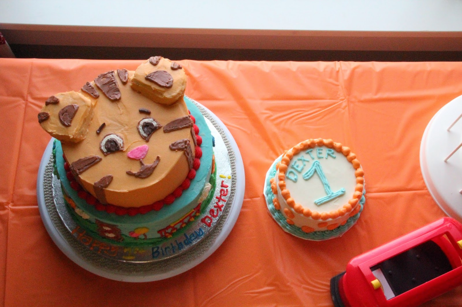 Daniel Tiger Cake Pan Cake Recipe