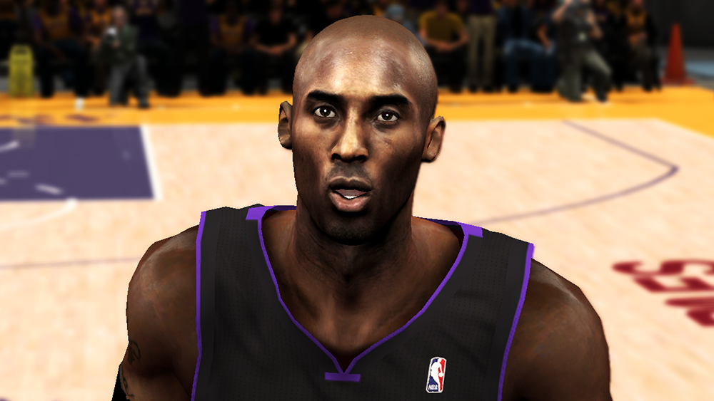 NBA 2K14 Kobe Bryant Next-Gen Face Mod
