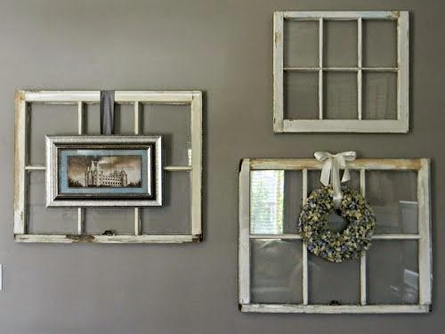 Decorating With Old Windows - Interior Design