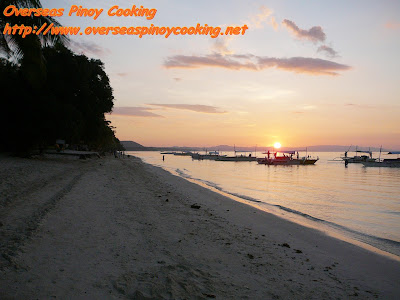 Dumaluan Beach at Sunrise
