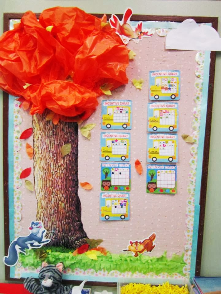 Miss Yellow Shoes Diy Bulletin Board Border