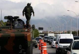 RJ - Exército ocupa a Linha Vermelha