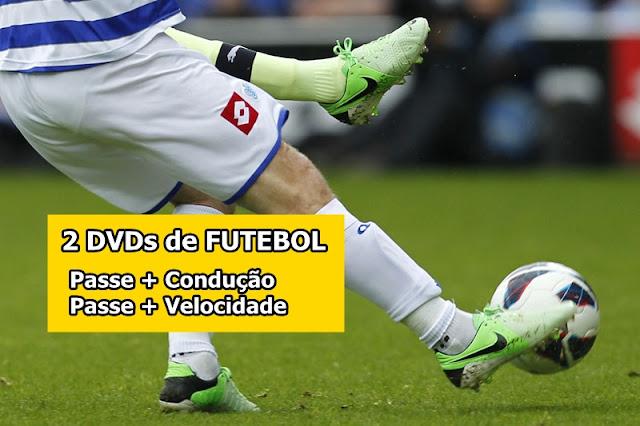 Promoção: 2 dvds de passe no Futebol