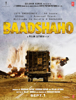Baadshaho movie poster
