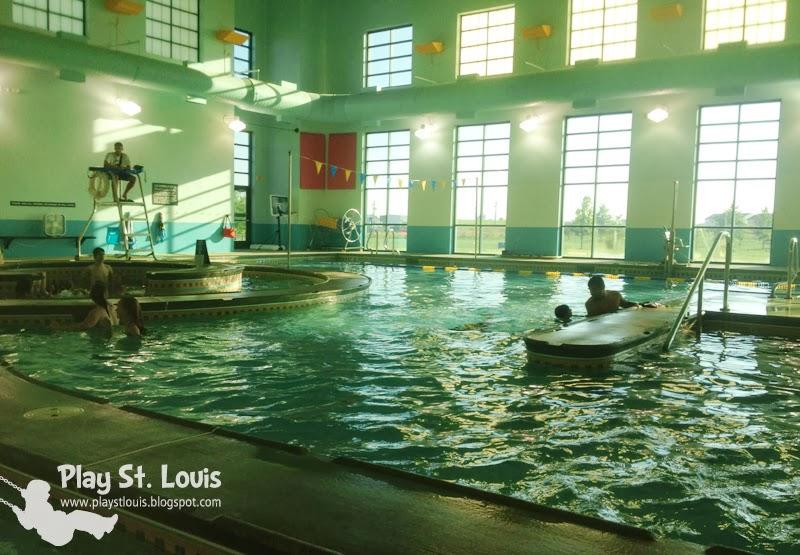 Play St Louis Korte Recreation Center Indoor Pool Highland Il