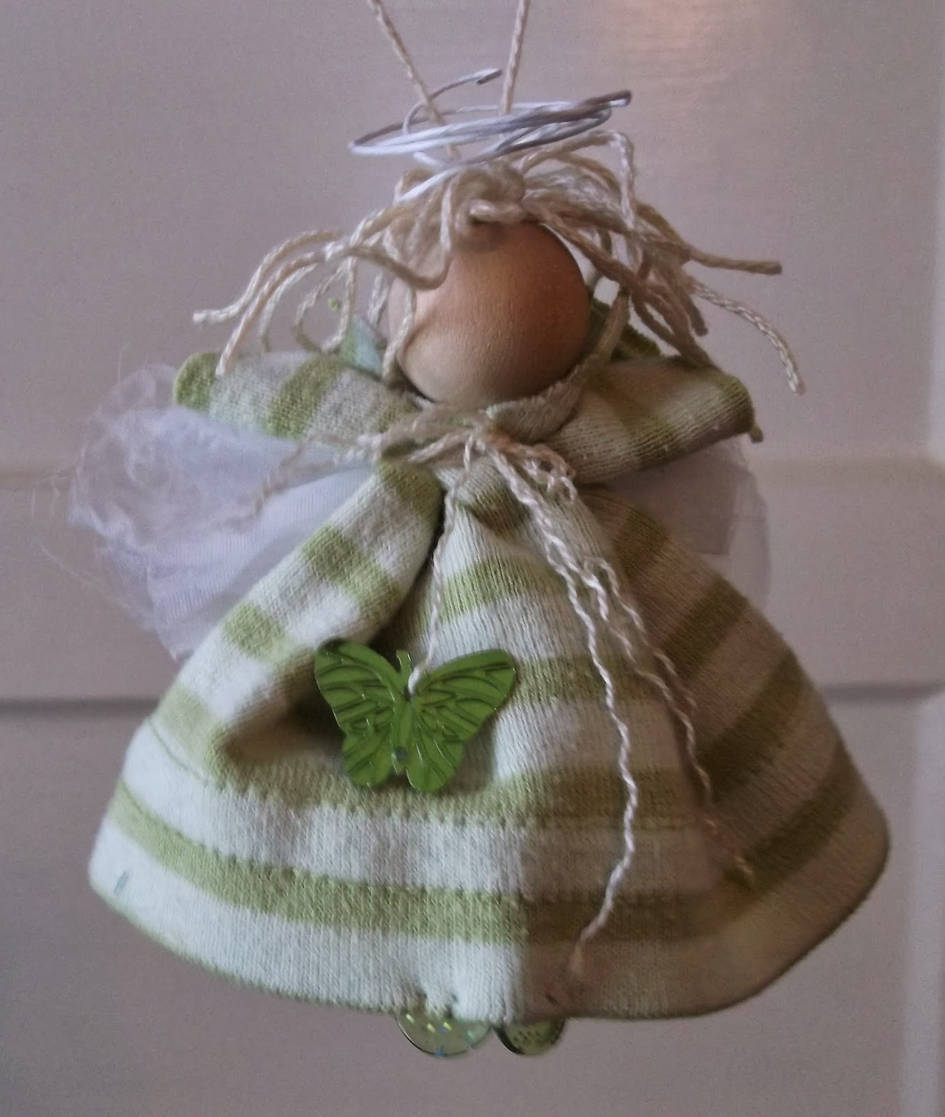 Angel Decorations To Make: Southern Sky Craft Studio: Making Angel Ornaments