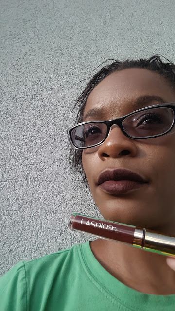 L.A. Spalsh Lip Couture 'Untamed' swatch - www.modenmakeup.com