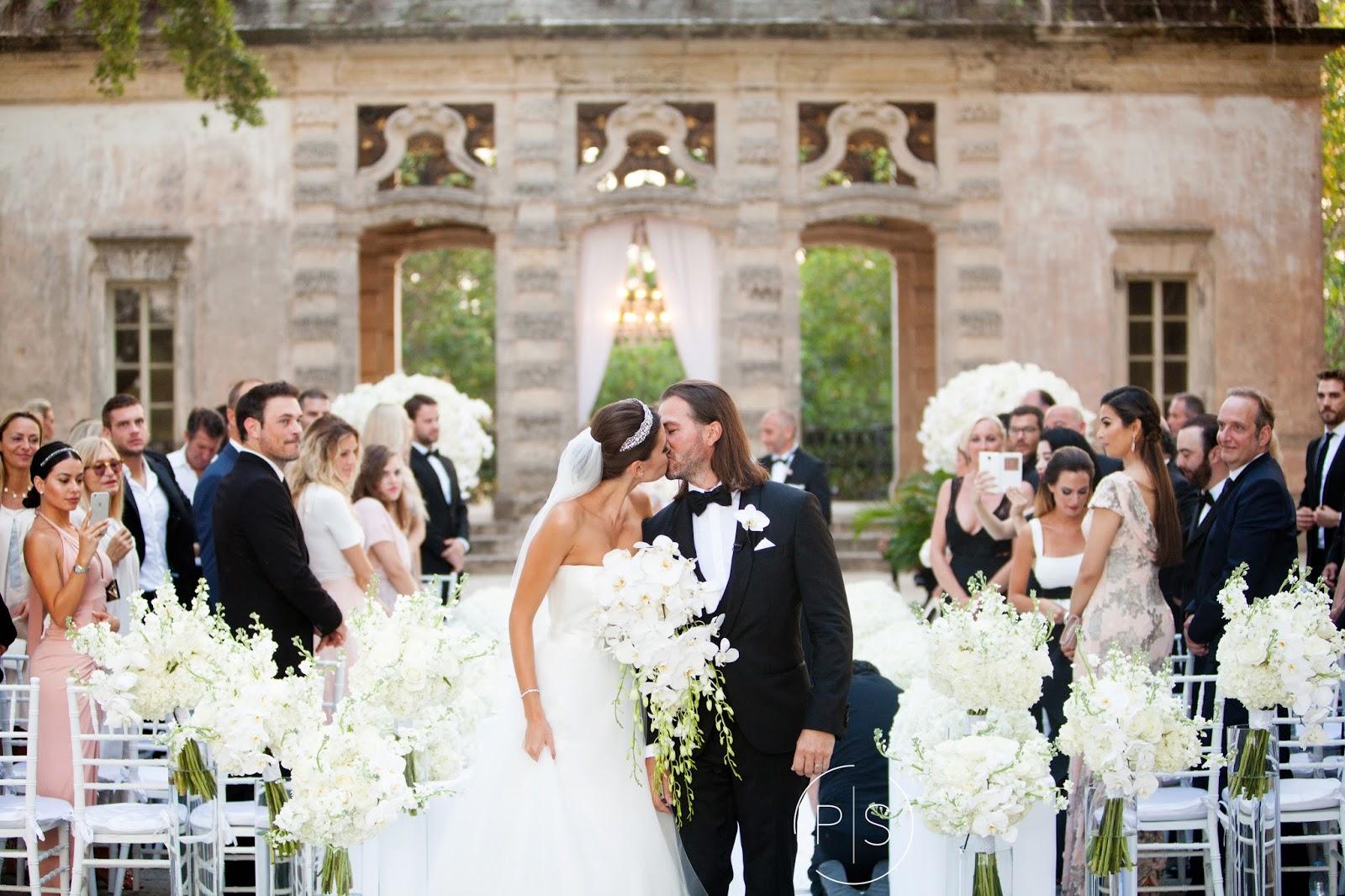 Jennifer J Events CM Gorgeous Wedding at Vizcaya and Villa Azur