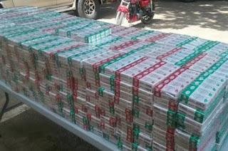 Cesfront decomisa miles de cajetillas de cigarrillos en Dajabón