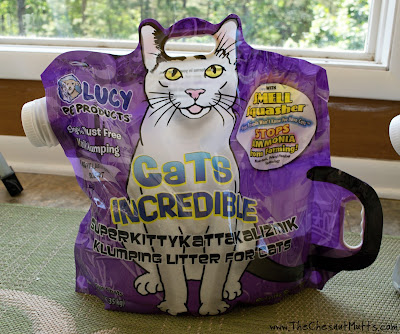 Lucy Pet Products Cats Incredible Lavender Scented Cat Litter