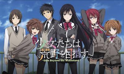 Download Shoujo Tachi wa Kouya wo Mezasu