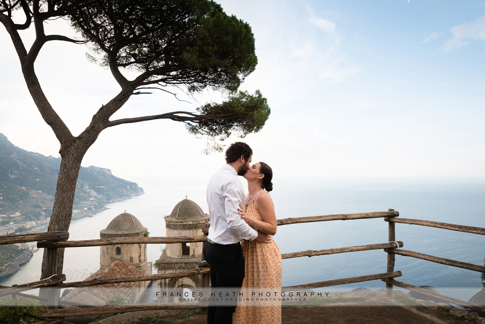 Wedding proposal in Ravello