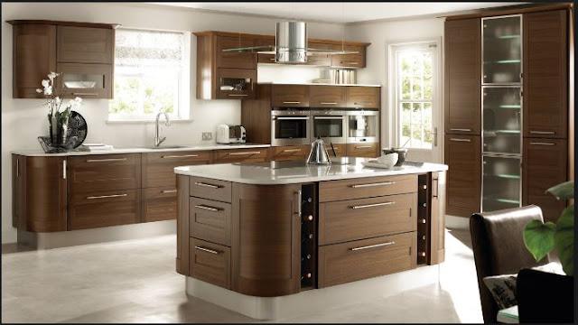 Thiết kế và bài trí bếp gọn đẹp cùng các loại thiết bị tủ bếp