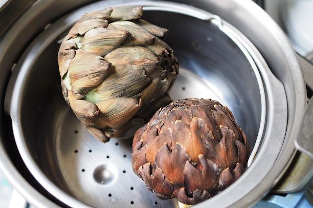 Cuisiner les artichauts