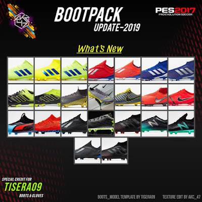 PES 2017 Bootpack Update 2019 by AK-RF Mods