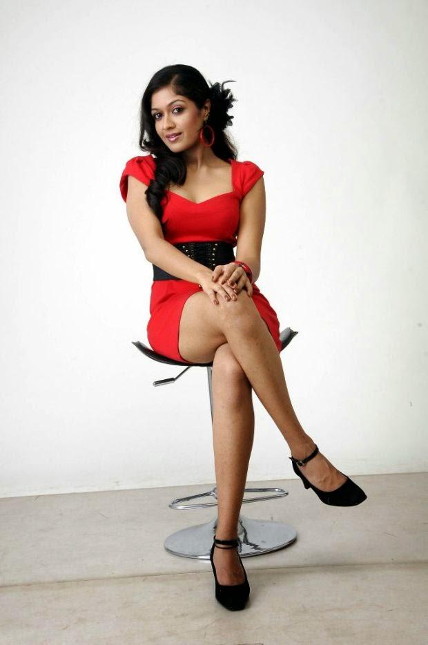 Meghna Raj Hot Photos Mini Skirt Gallery Shiner Photos