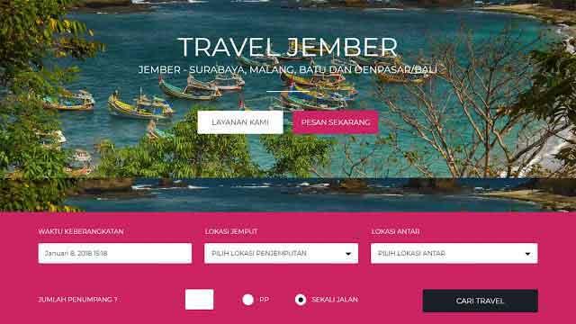 desain website jember