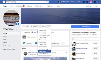 Tips Trik Menambah Jumlah Liker Fanspage Terbaru