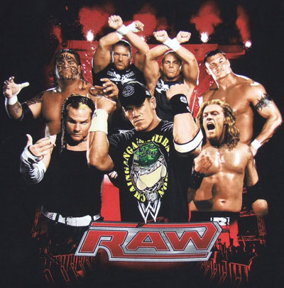 WWE Monday Night RAW 10 Aug 2015 HDTV 480p 450MB