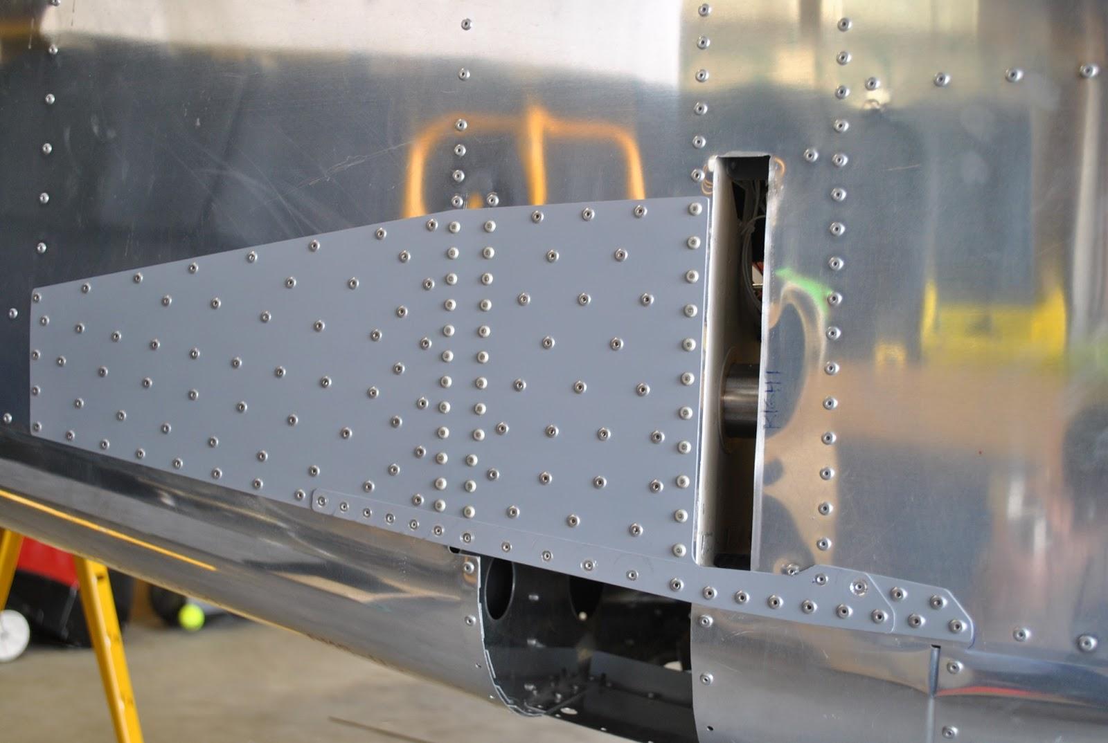 RV-12 Builder in Sandy, UT: Rivet Side Skin Doublers